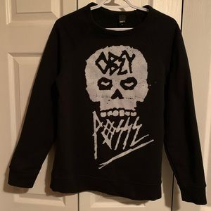 M - Obey sweater
